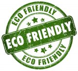 eco friendly hardwood badge